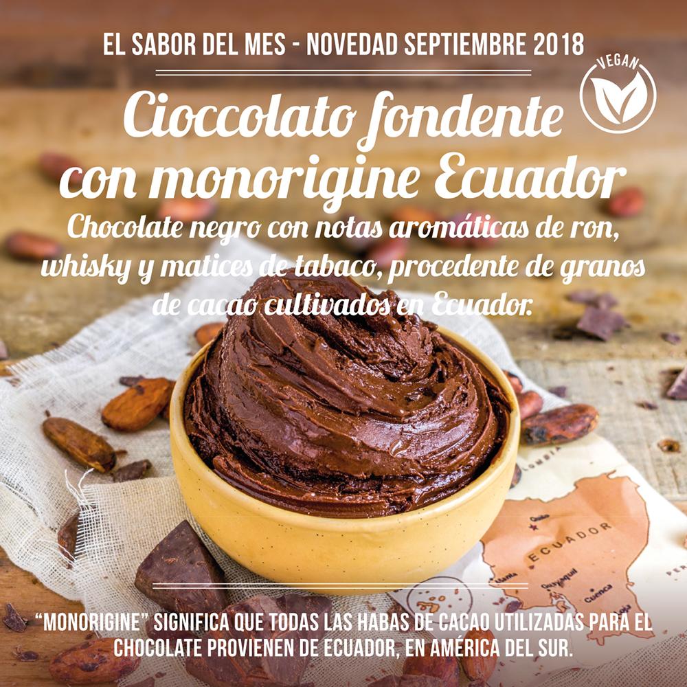 Cioccolato fondente con monorigine Ecuador ES