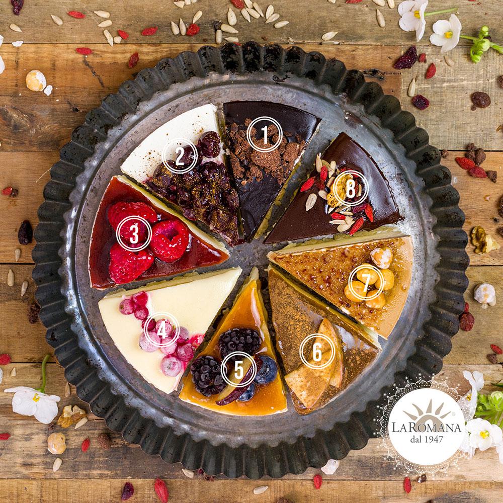 Cheesecake-fette