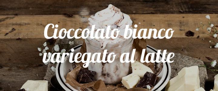 Cioccolato bianco variegato al latte. Sbaor del mes de noviembre La Romana España