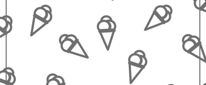 Colorea los conos de helado 2